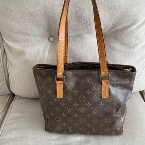 Authentic Louis Vuitton Cabas Piano cheaper on Mer